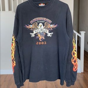 Other - Vintage Sturgis bike rally long sleeve
